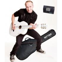 TeachMe Klassisk bundle - Gitarpakke for nybegynnere, venstrehendt