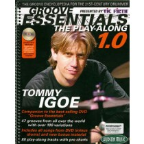 Tommy Igoe: Groove Essentials, vol. 1 - The Play-Along + streaming/download