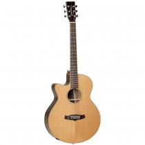 Tanglewood TWJSF-CE-LH Java Acoustic Guitar med Fishman pickupsystem - Venstrehendt