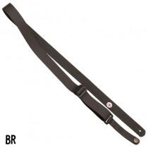 Steph Ukulele Strap UKL-31 BROWN - Lærreim for ukulele