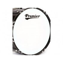 "PREMIER 22"" Supersonic White Bass Head - Trommeskinn"
