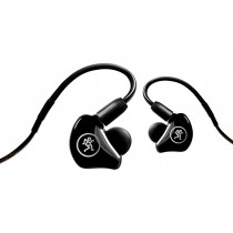 Mackie MP-240 In-Ear Monitors, black