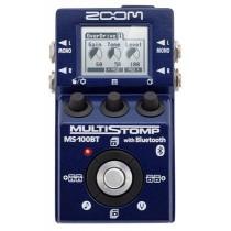 Zoom MS-100BT multistomp for gitar m/bluetooth
