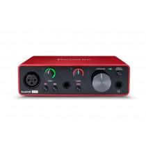 Focusrite Scarlett Solo Gen3 | USB-lydkort, 2inn/2ut