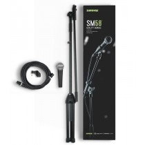 Shure SM58 - K&M - 6m. XLR Cable Bundle