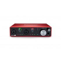 Focusrite Scarlett 4i4 Gen3 | USB-lydkort, 4 inn/4 ut