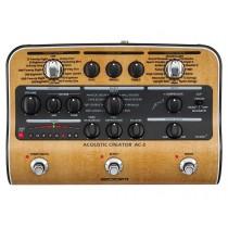 Zoom AC-3 Acoustic Creator - Effektpedal, gitarmodellering og DI-boks