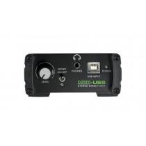 Mackie MDB-USB stereo DI boks.