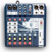 Soundcraft Notepad 8FX | 2 MIK, 2 STEREO, USB, FX