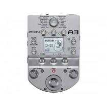 Zoom A3 preamp og effekter for akustisk gitar
