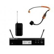 Shure BLX14RE trådløst system med SM31FH Headset