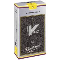 Vandoren V12 CR193 - 10 stk NR.3 flis/rør til klarinett Bb