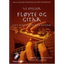 Vi spiller fløyte og gitar m/CD - Sven Lundestad - Helle Waagø Lyngstad