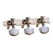Dixon SKG-355 Gitarmekanikk 3+3, Stål, Chr. Metallører