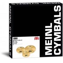 """Meinl HCS141620 - Cymbalsett 14"""" 16"""" 20"""" + MCM dempematter"""