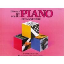 Bastien Bit for bit Begynnerbok Pianoskole - Norsk utgave