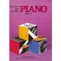 Bastien Bit for bit 1 Pianoskole - Norsk utgave