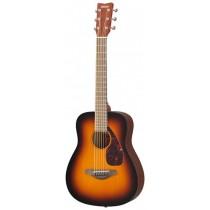 Yamaha JR2S TBS - Mini akustisk gitar med heltre granlokk og gigbag
