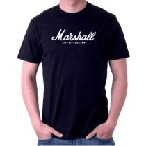 Marshall TSAMP01-F-BK-L - T-Shirt, Large