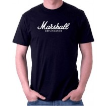 Marshall TSAMP01-H-BK-L T-Shirt - Mann - Large
