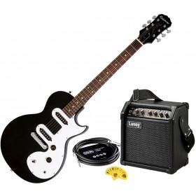 Epiphone Les Paul SL el.gitarpakke med Laney LR5 forsterker - Sort