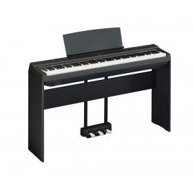 Yamaha P-125 bundle med piano, stativ og pedaler